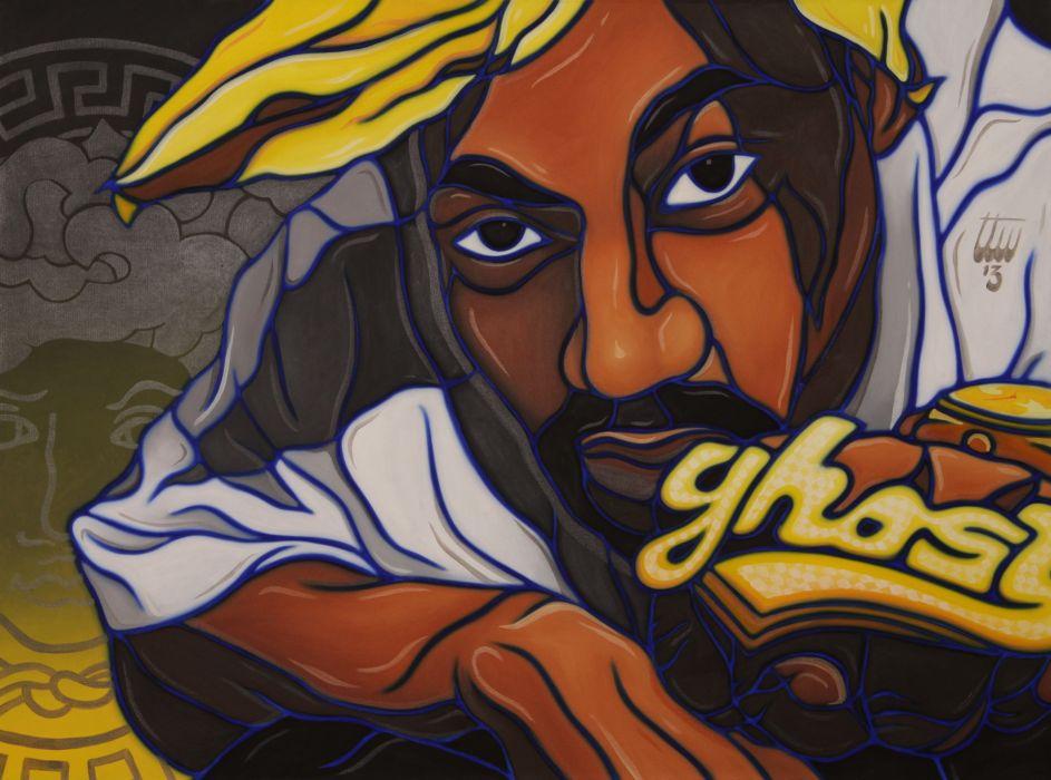 GHOSTFACE KILLAH gangsta rapper rap hip hop   ds wallpaper