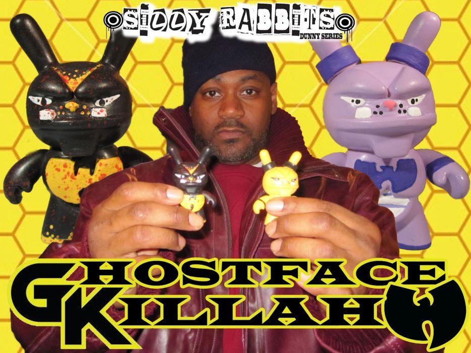 GHOSTFACE KILLAH gangsta rapper rap hip hop   e wallpaper