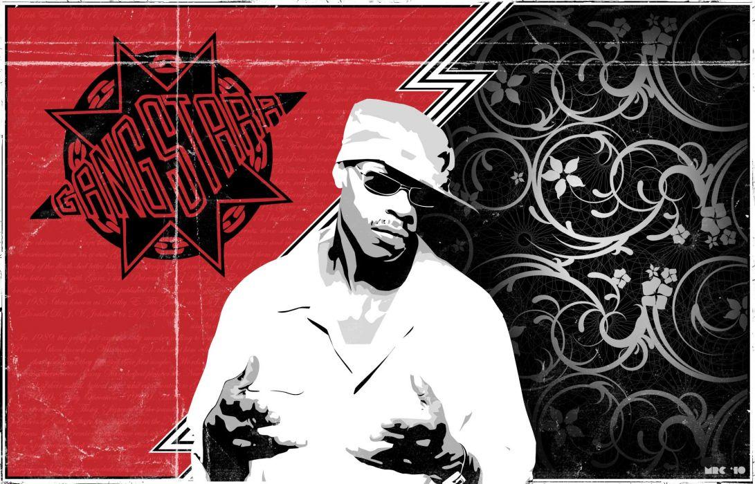 GURU gang starr gangsta rapper rap hip hop       f wallpaper