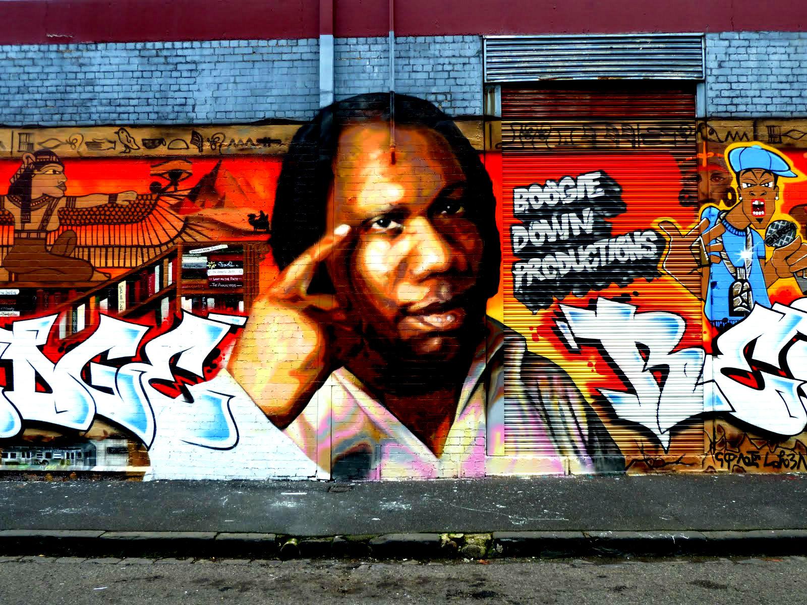 KRS ONE Gangsta Rapper Rap Hip Hop Krs One Graffiti Gs Wallpaper