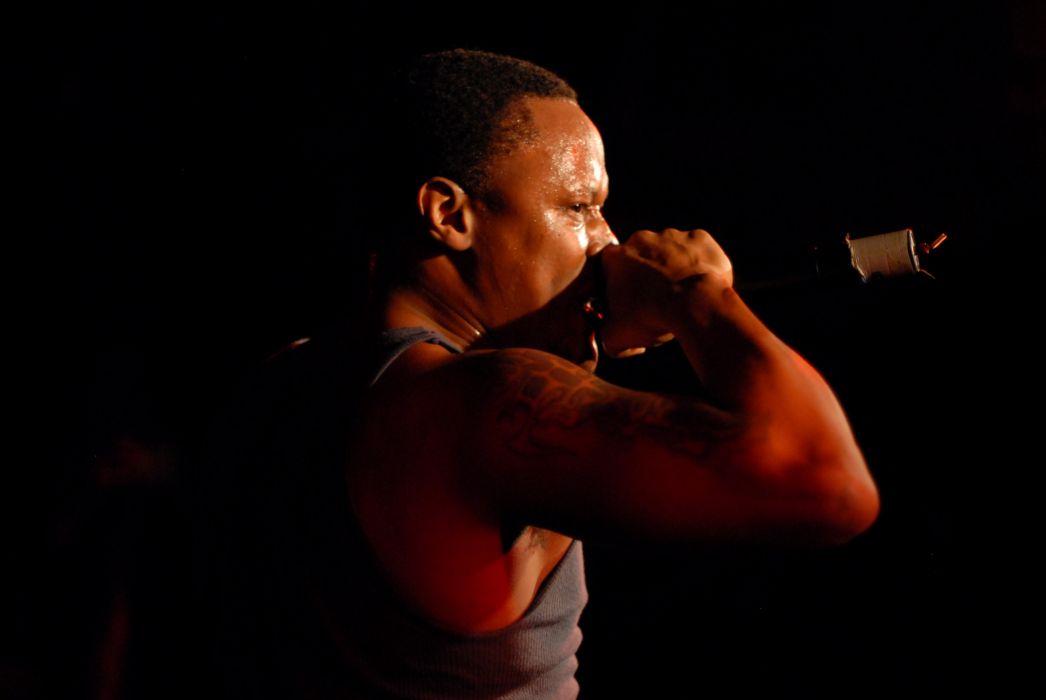 KRS-ONE gangsta rapper rap hip hop krs one microphone concert   rw wallpaper