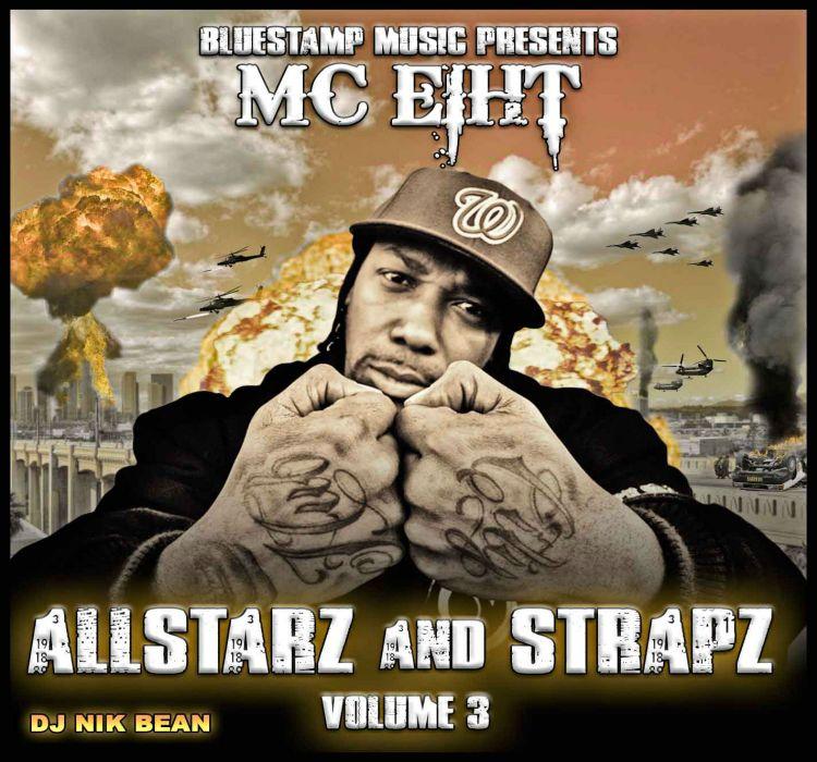MC EIHT MC8 gangsta rapper rap hip hop poster    hj wallpaper