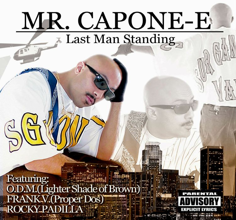 MR CAPONE E gangsta rapper rap hip hop poster    ue wallpaper