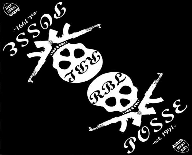 RBL POSSE gangsta rapper rap hip hop dark skull weapon gun g wallpaper