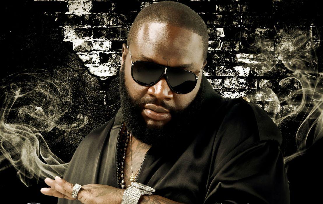 RICK ROSS gangsta rapper rap hip hop   rw wallpaper