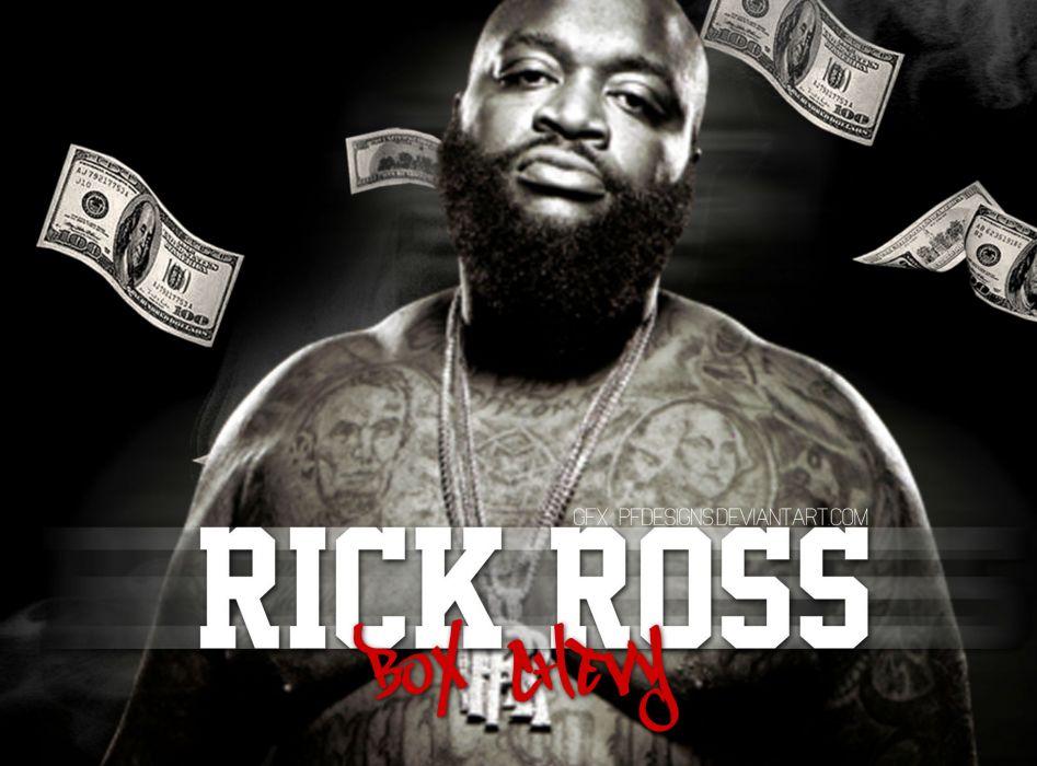 RICK ROSS gangsta rapper rap hip hop poster  th wallpaper
