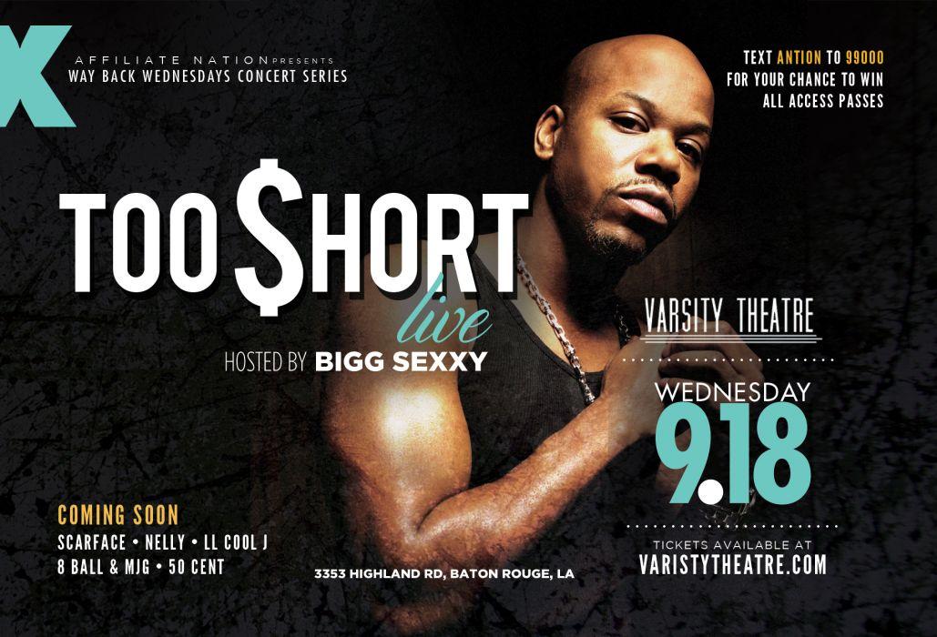 TOO SHORT gangsta rapper rap hip hop poster     f wallpaper