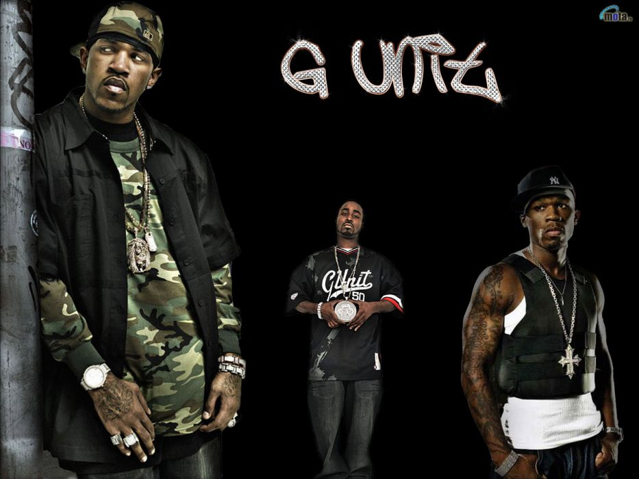 G-UNIT 50-CENT gangsta rap rapper hip hop unit cent   h wallpaper