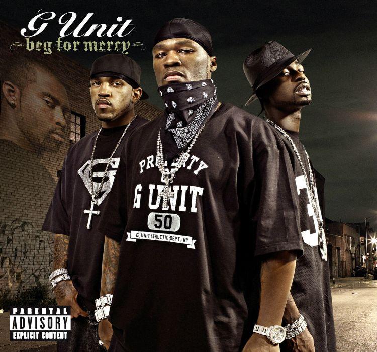 G-UNIT 50-CENT gangsta rap rapper hip hop unit cent poster       eg wallpaper