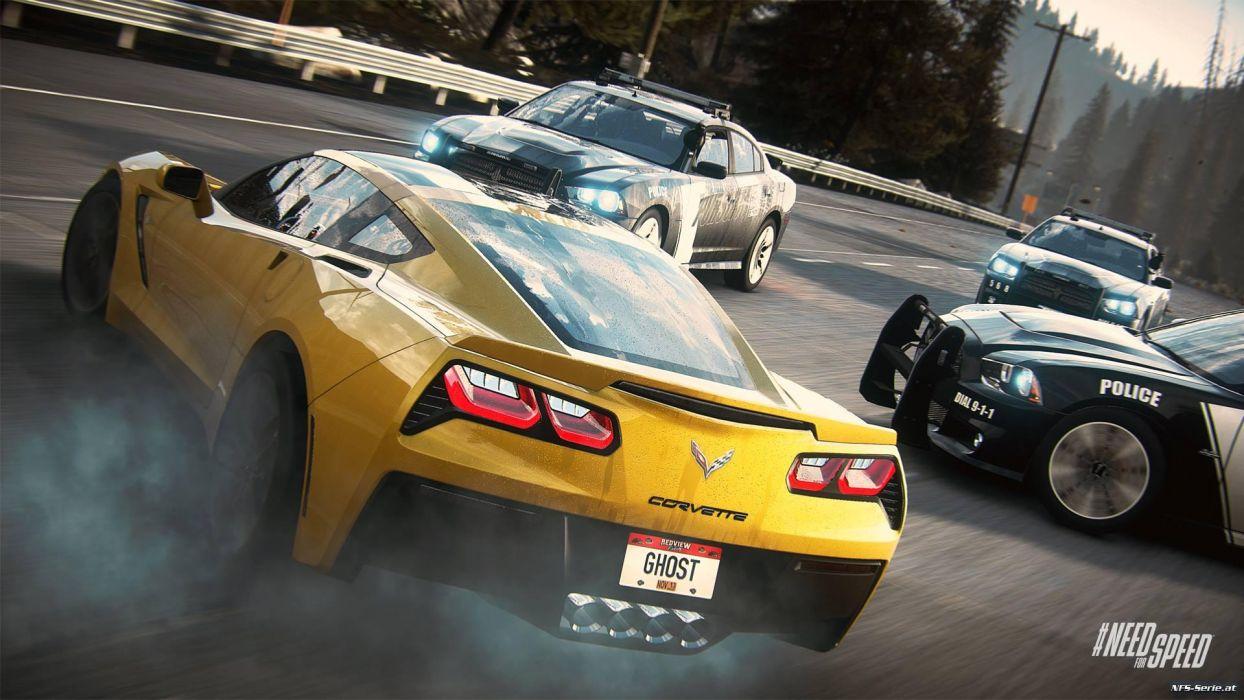 NFS Rivals - Chevy Corvette Stingray wallpaper