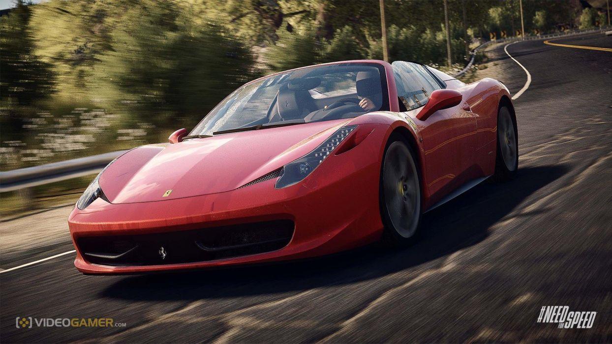 NFS Rivals - Ferrari 458 Spyder wallpaper