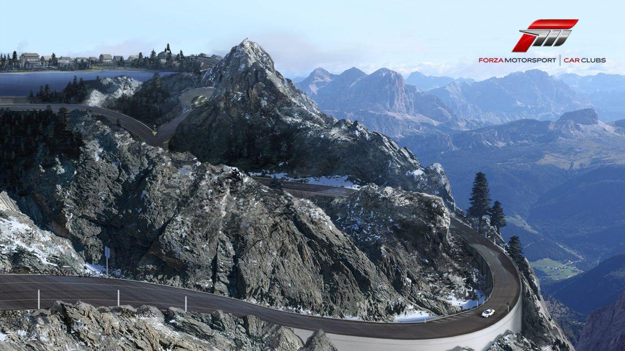 Bernese Alps Forza 4 wallpaper