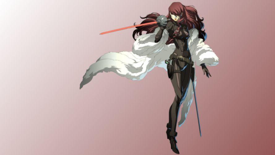 Persona 4 Arena - Mitsuru Kirijo wallpaper