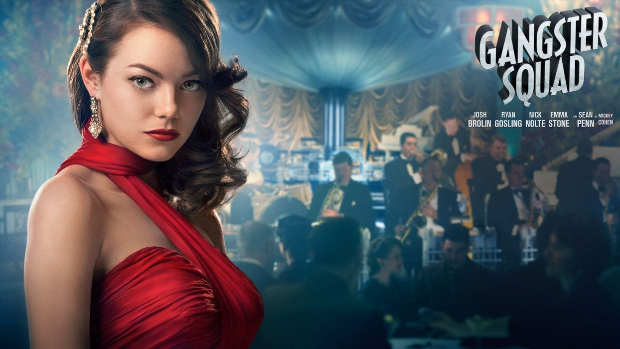 Gangster Squad - Emma Stone wallpaper