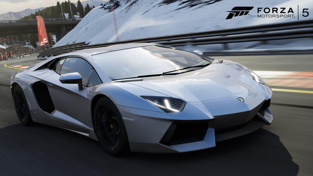 Forza 5 - Lamborghini Aventador wallpaper