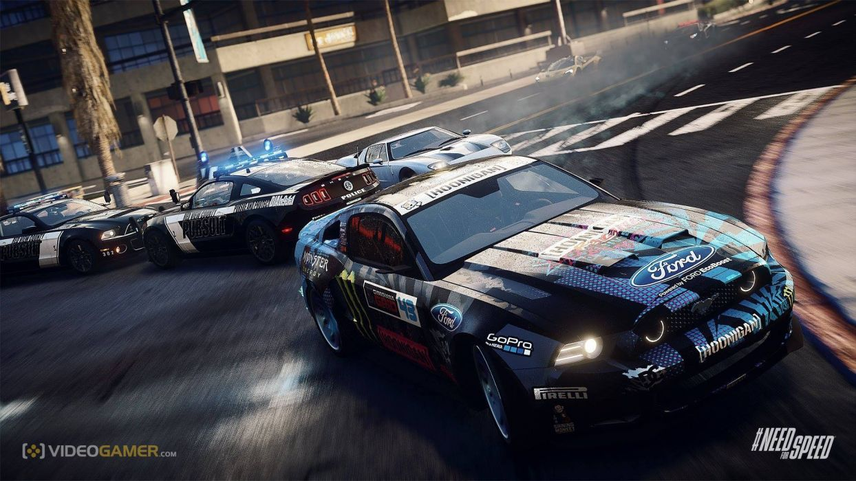 Nfs Rivals Ford Mustang Ken Block Racing Wallpaper 1920x1080