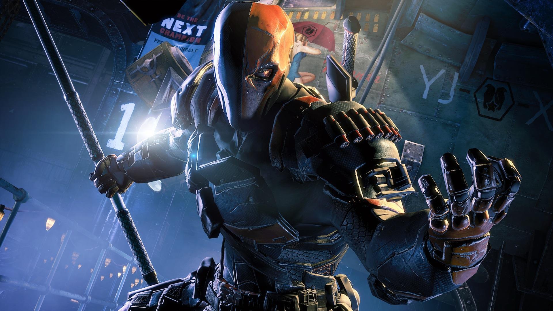 Batman Arkham Origins - Deathstroke wallpaper background