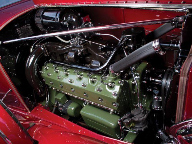 1933 Packard Twelve Coupe Roadster 1005-639 luxury retro engine g wallpaper