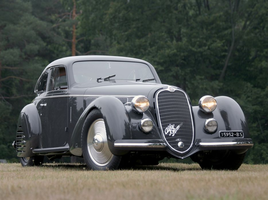 1937 Alfa Romeo 8C 2900B Corto Touring Berlinetta retro 8-c    t wallpaper
