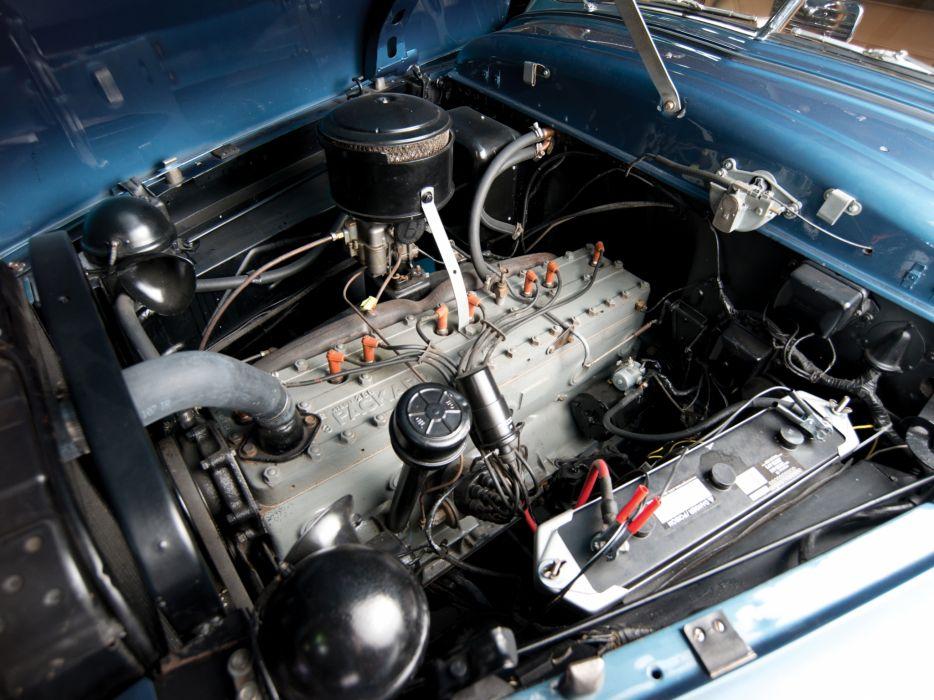 1950 Packard Standard Eight Station Sedan (2301-2393) stationwagon retro engine    f wallpaper