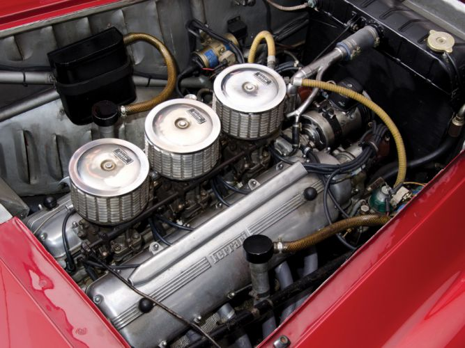 1952 Ferrari 225 Sport Spyder Tuboscocca supercar retro engine f wallpaper