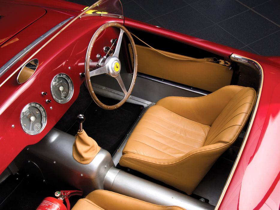 1952 Ferrari 225 Sport Spyder Tuboscocca supercar retro interior    g wallpaper
