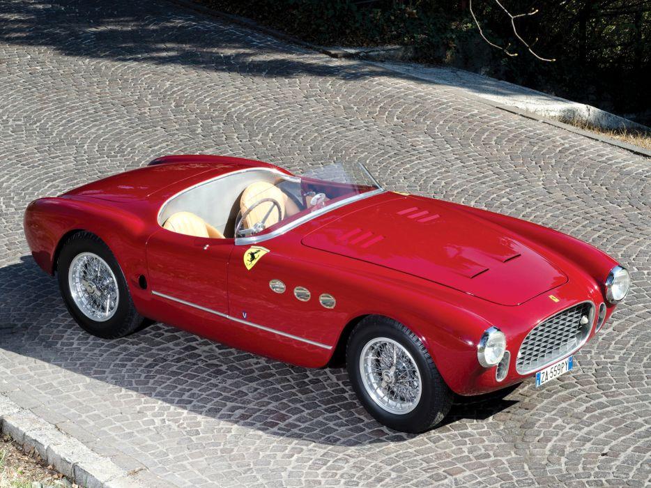 1952 Ferrari 225 Sport Spyder Tuboscocca supercar retro     f wallpaper