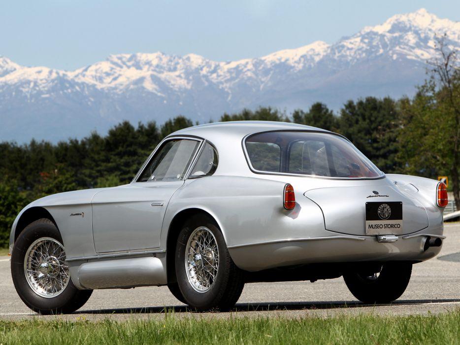 1954 Alfa Romeo 2000 Sportiva Coupe (1366) retro   d wallpaper