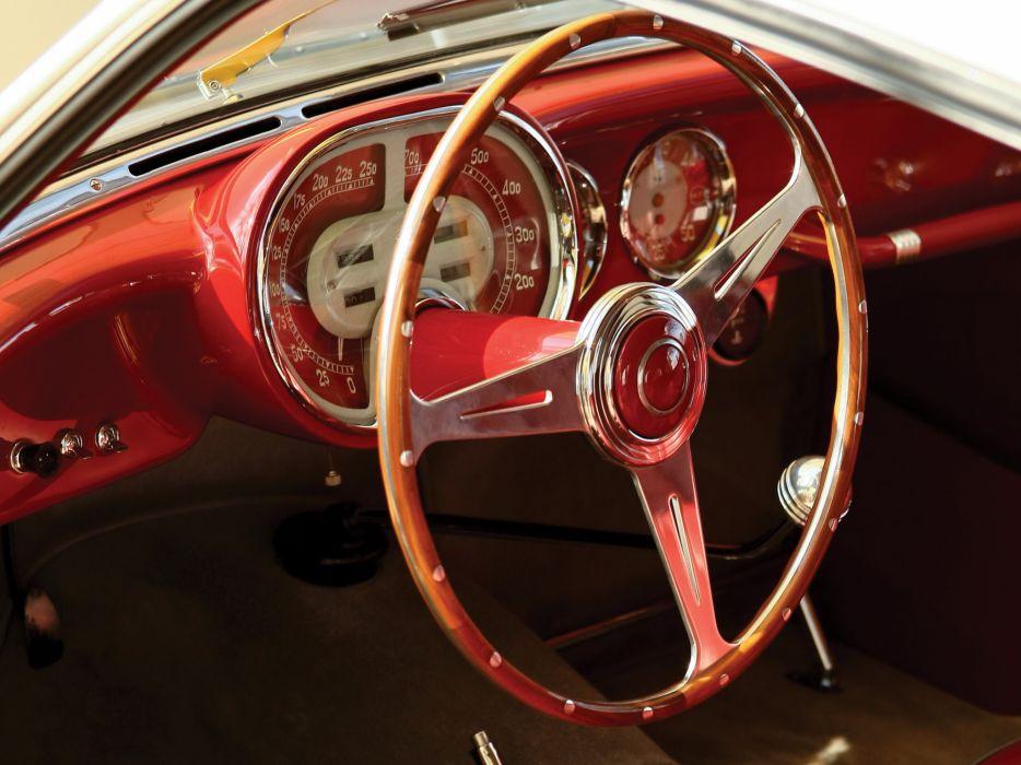 1954 Fiat 8V Coupe retro 8-v interior     y wallpaper