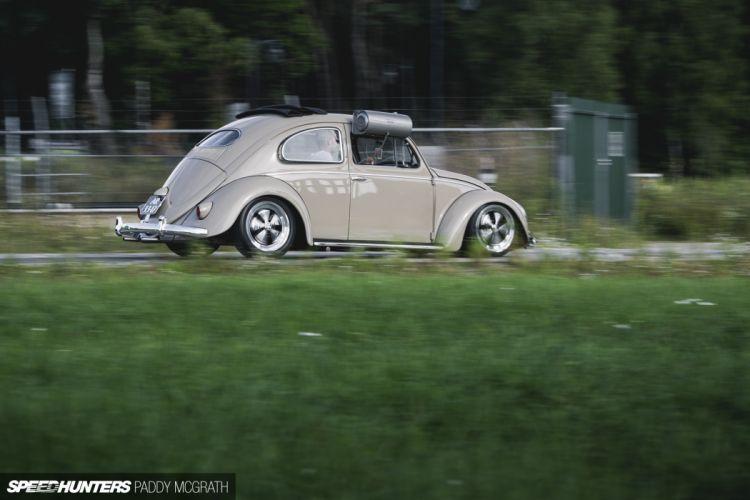 1957 Volkswagon beetle bug tuning lowrider retro e wallpaper