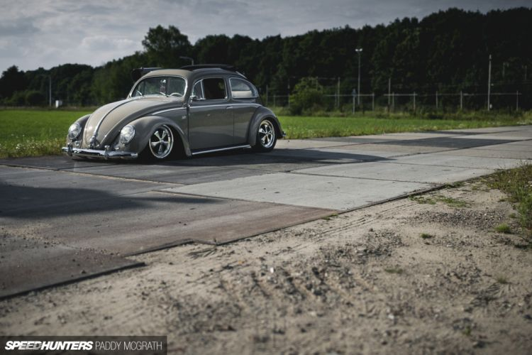 1957 Volkswagon beetle bug tuning lowrider retro d wallpaper