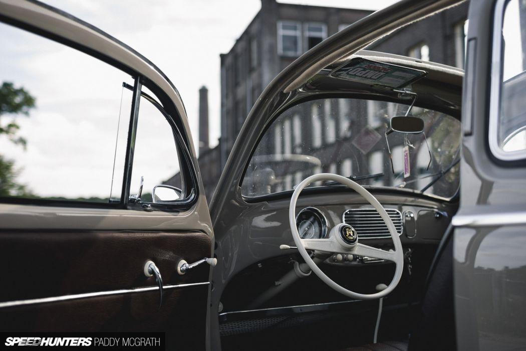 1957 Volkswagon beetle bug tuning lowrider retro interior       h wallpaper