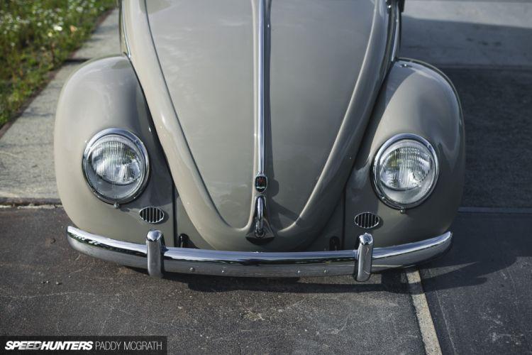 1957 Volkswagon beetle bug tuning lowrider retro f wallpaper