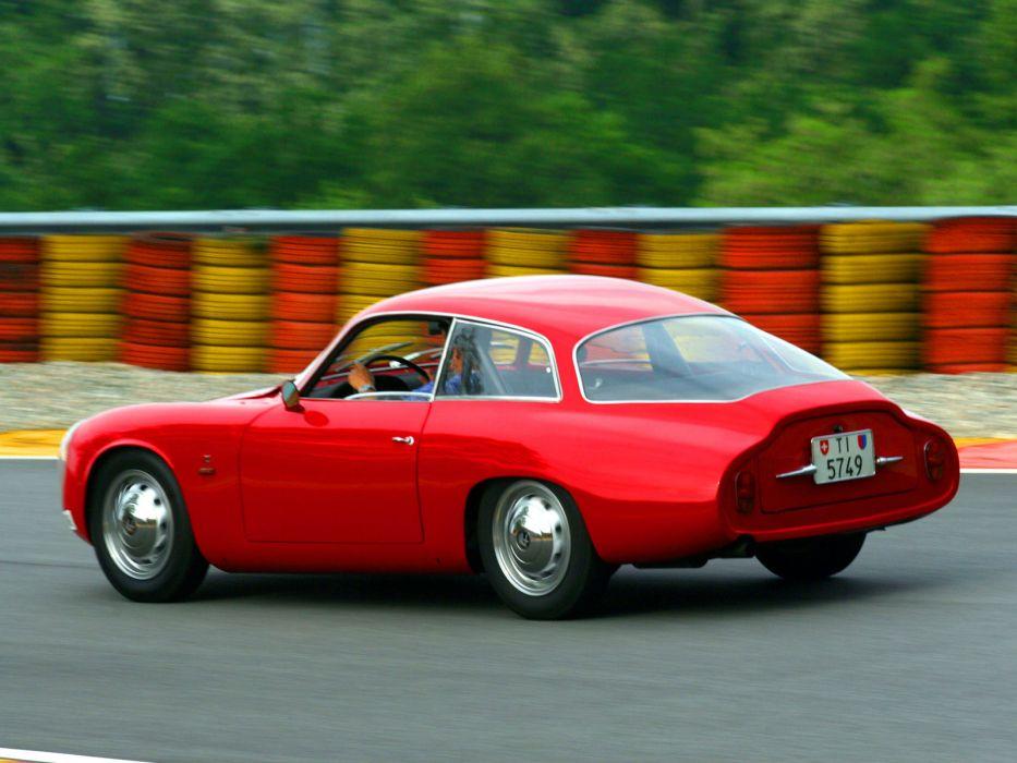 1961 Alfa Romeo Giulietta SZ Coda Tronca (101) classic   fa wallpaper