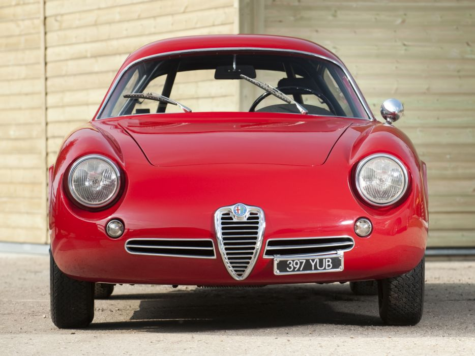 1961 Alfa Romeo Giulietta SZ Coda Tronca (101) classic  f wallpaper