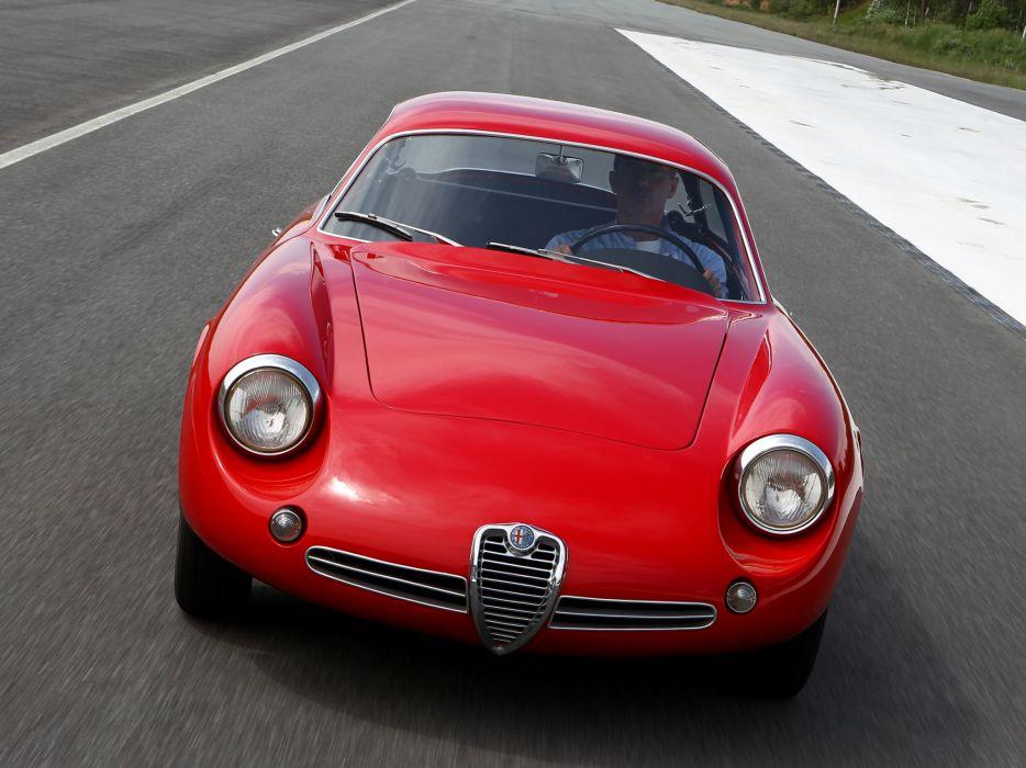 1961 Alfa Romeo Giulietta SZ Coda Tronca (101) classic  e wallpaper