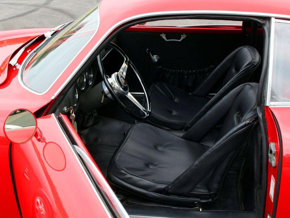 1961 Alfa Romeo Giulietta SZ Coda Tronca (101) classic interior    d wallpaper