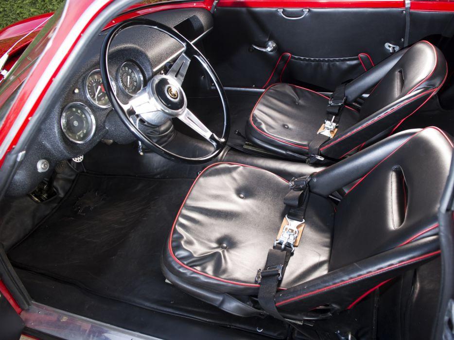 1961 Alfa Romeo Giulietta SZ Coda Tronca (101) interior classic      h wallpaper