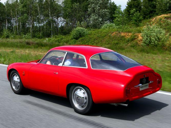 1961 Alfa Romeo Giulietta SZ Coda Tronca (101) classic w wallpaper