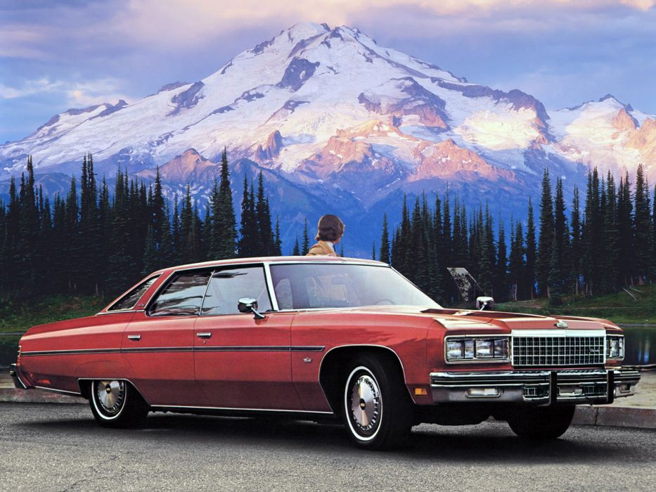1976 Chevrolet Caprice Classic Hardtop Sedan (N39)        j wallpaper