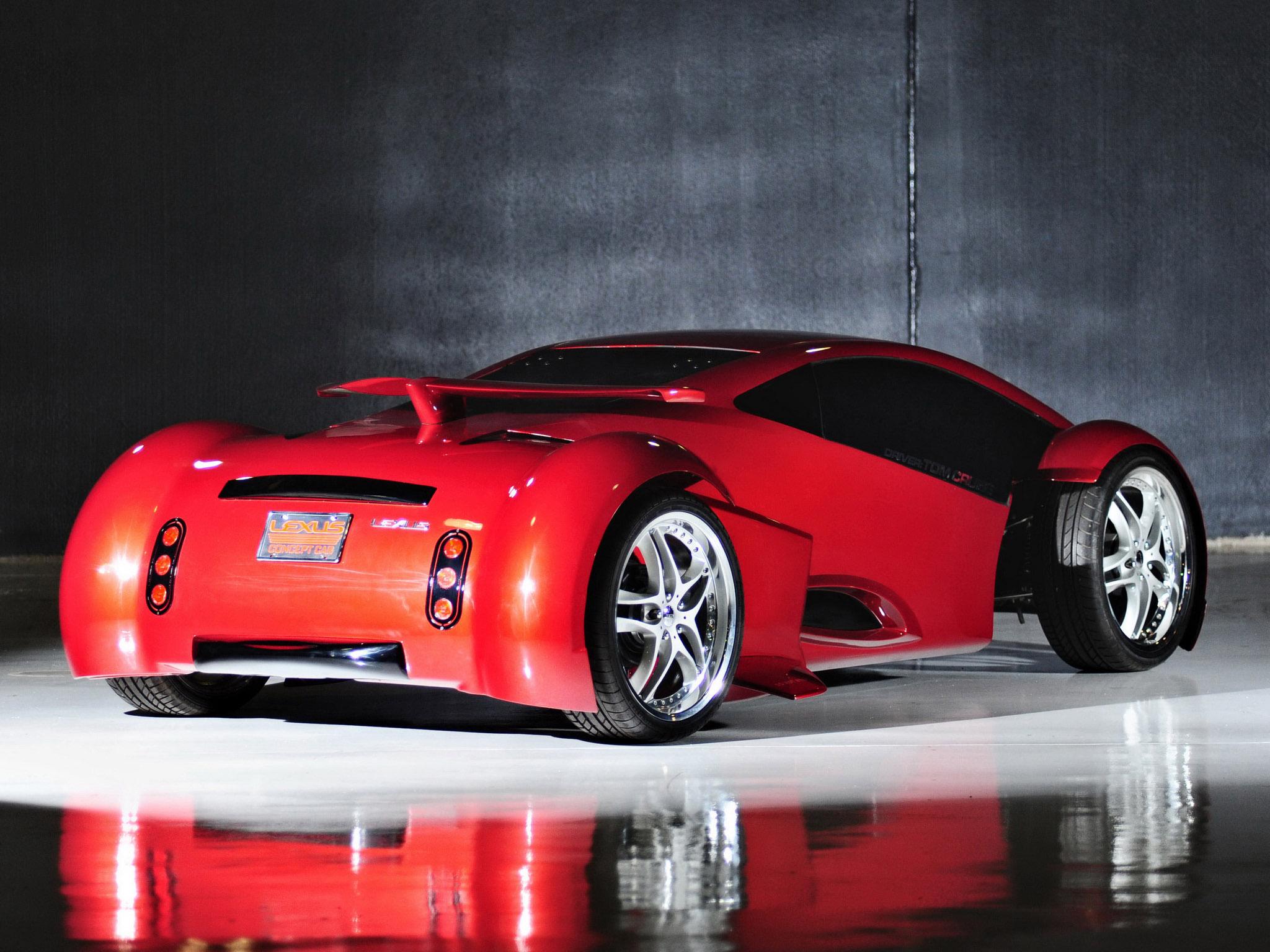2002 Lexus Minority Report Concept 2054 supercar f ...