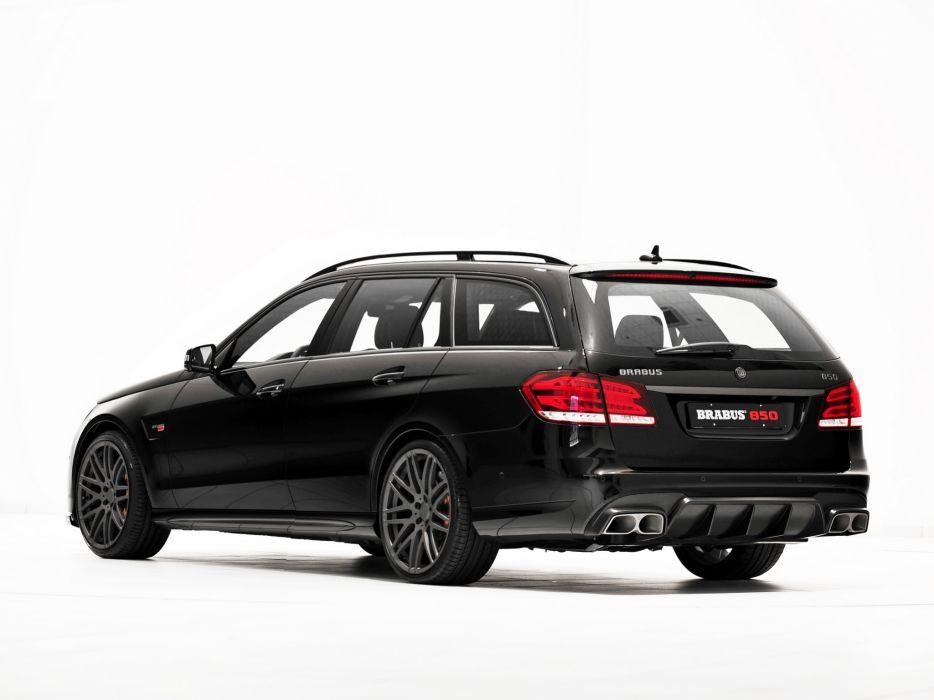 2013 Brabus Mercedes Benz E63 AMG Estate (S212) tuning stationwagon  d wallpaper