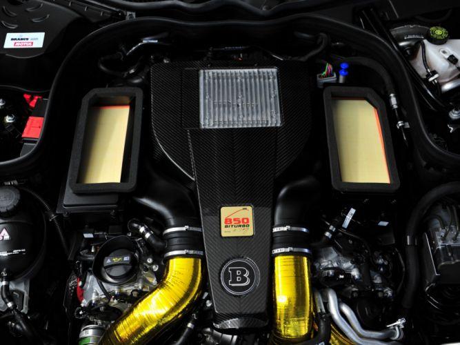 2013 Brabus Mercedes Benz E63 AMG Estate (S212) tuning stationwagon engine f wallpaper