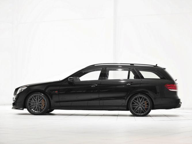 2013 Brabus Mercedes Benz E63 AMG Estate (S212) tuning stationwagon f wallpaper