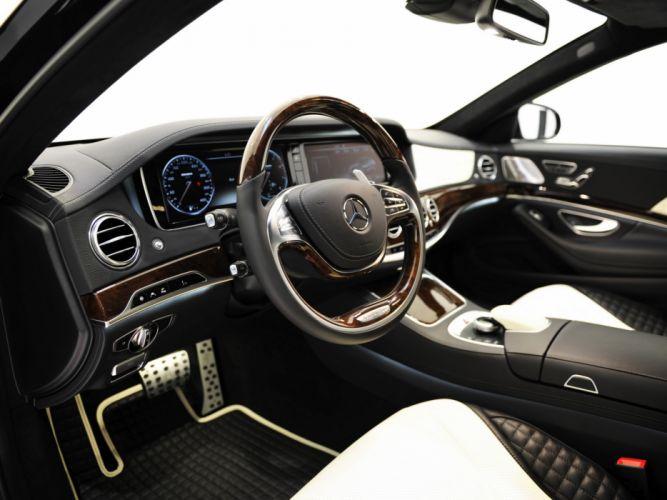 2013 Mercedes Benz Brabus 850 iBusiness (W222) tuning interior g wallpaper