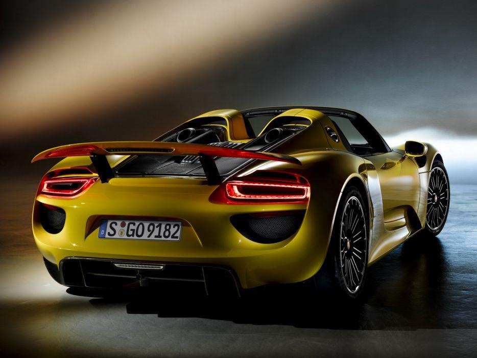 2014 Porsche 918 Spyder   d wallpaper
