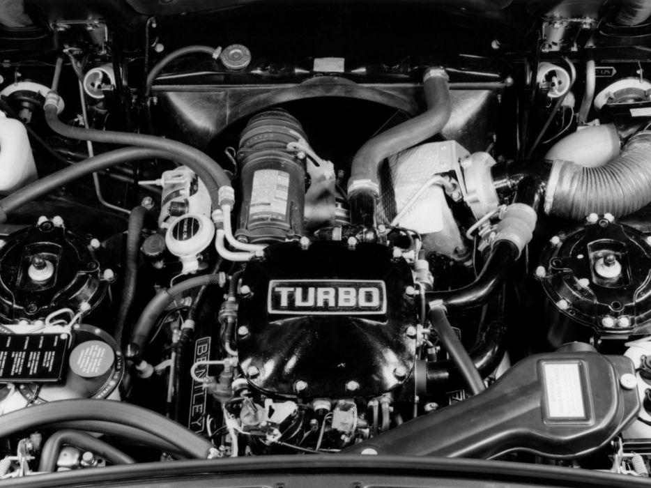 Bentley Mulsanne Turbo engine    h wallpaper