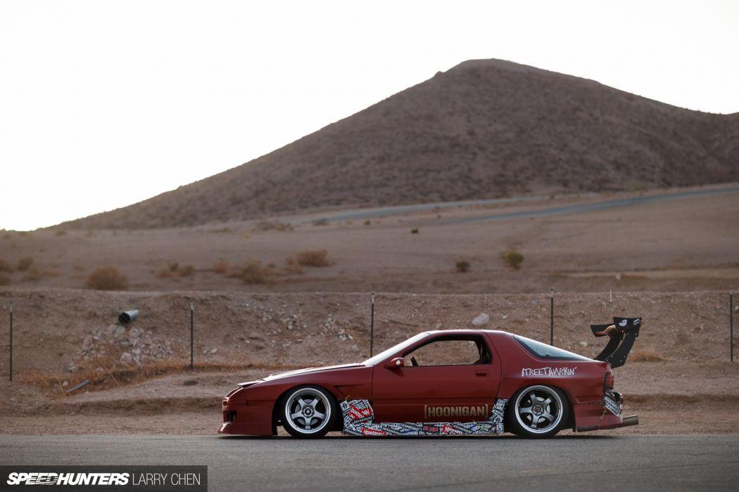 Street Shark Mazda FC3S RX-7 tuning drift race racing rx7   d wallpaper