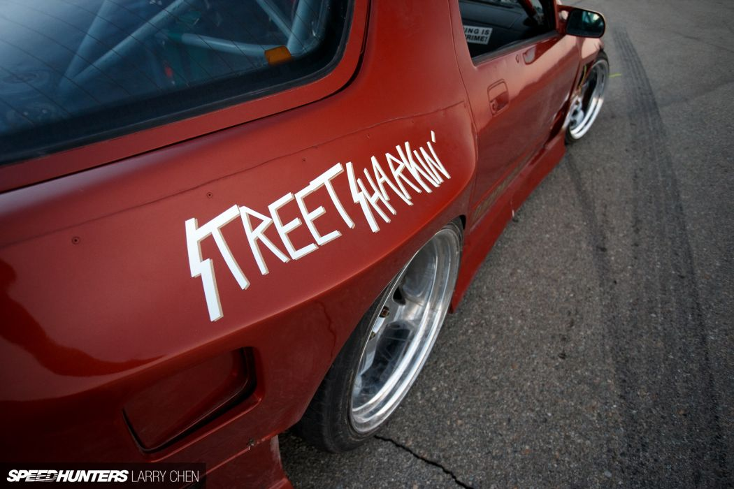 Street Shark Mazda FC3S RX-7 tuning drift race racing rx7 wheel  f wallpaper