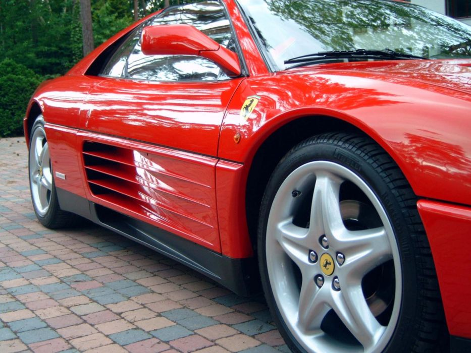 1993 Ferrari 348 TS supercar     f wallpaper